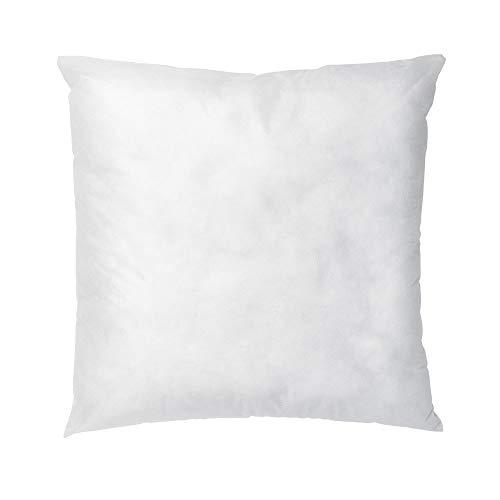 Linens Limited 2 Innenkissen - Kissenfüllung m. Hohlfasern - Polyester - Weiß, 43 x 43 cm