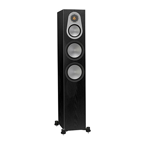 Monitor Audio RX8 Diffusori da pavimento, colore Black Oak Real Wood Veneer. Prezzo per Coppia