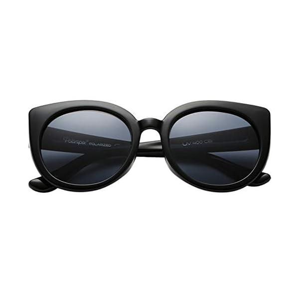 Polarspex Girls Elastic Cateye Toddler Polarized Kids Sunglasses – Ages 3-7