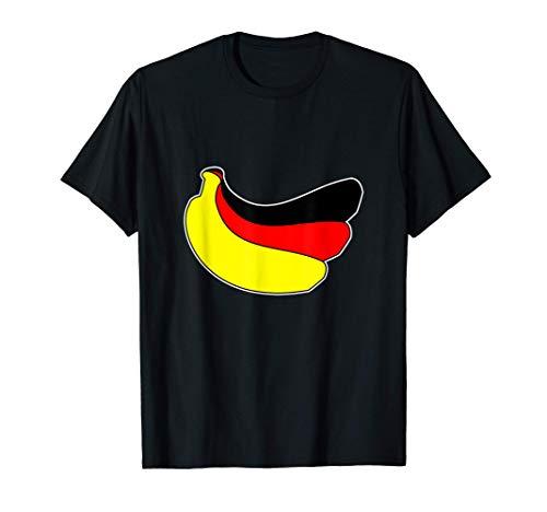 Bananenrepublik Deutschland - Bananen DDR BRD Politik Flagge T-Shirt