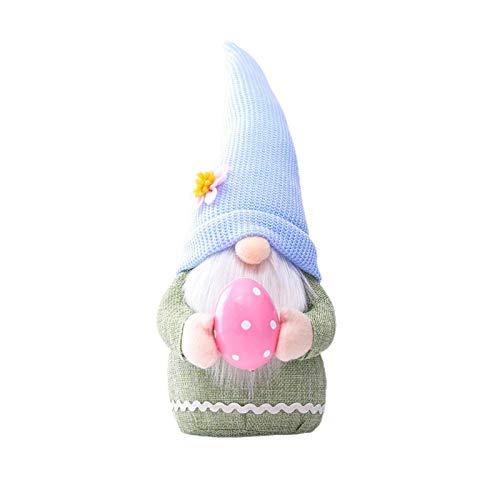 moonship Ostergnom Tomte GNOME - 34cm Plüsch Wichtel Figuren, Weihnachten Deko Wichtel Figuren Klein,Ostern Wichtel Deko Für Kinder Familie Weihnachtsdeko Innen Draußen