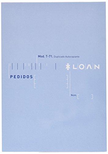 Loan T71 - Talonario, 10 unidades ✅
