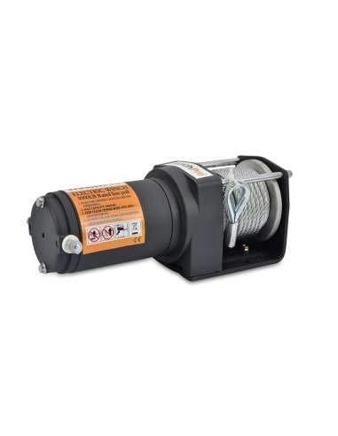 31SGEVZpPgL. SL500  - Winchpro - Cabrestante Eléctrico 12V 1360kg/3000lbs, 12m De Cuerda De Acero, 2 Mandos A Distancia , Placa De Montaje