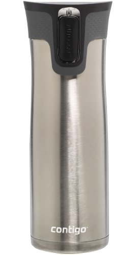 Contigo Autoseal West Loop - Vacuum Insulated Stainless Steel Thermal Coffee Travel Mug - Keeps Drinks Hot or Cold for Hours - Autoseal Prevents Spills and Leaks - BPA-Free - 24 Ounces