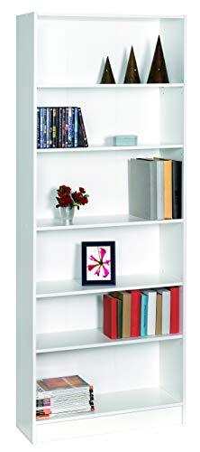 habeig Regal DICO Weiss Standregal Bücherregal Badregal TV-Regal HiFi-Regal Büroregal (#45 200x78x30cm)
