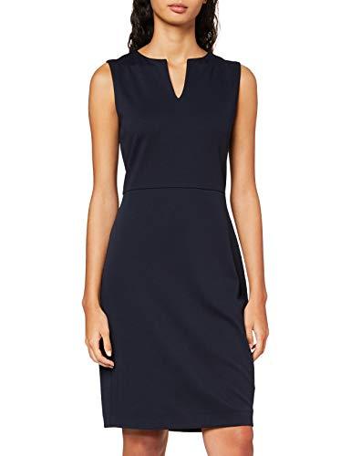 ESPRIT Collection Damen NOOS Dress Lässiges Business-Kleid, Blau 400, S