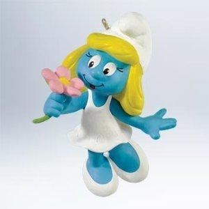 Hallmark 2011 - Smurfette Ornament - The Smurfs