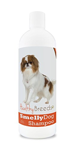 Healthy Breeds Smelly Dog Deodorizing Shampoo & Conditioner with Baking Soda for Japanese Chin - Over 200 Breeds - 8 oz - Hypoallergenic for Sensitive Skin