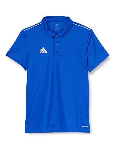 Adidas CORE18 POLO Polo shirt, Hombre, Bold Blue/ White, XL