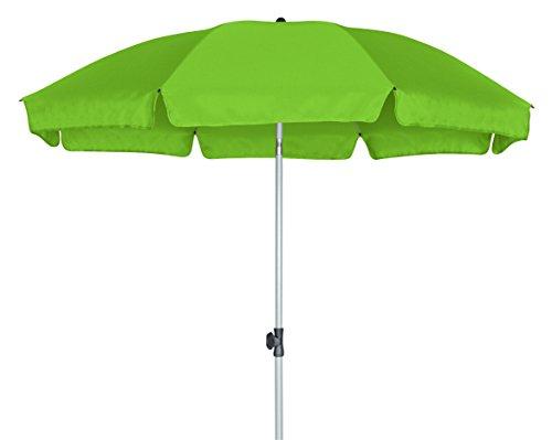 GoodSun Ombrellone da Giardino BE, Verde Chiaro, 240 cm, 10 Stecche