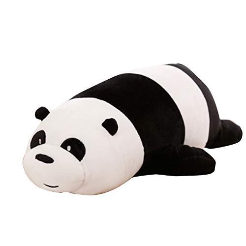 Lindo Panda Juguetes de felpa para niños Peluche Aniaml Oso Niños Muñeca Suave Dibujos Animados Throw Almohada Regalo de Cumpleaños para Niña
