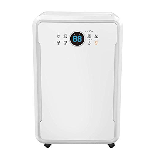Buy NILINBA Home Mini Dehumidifier-60L Daily Dehumidification-Negative Ion Purification-Child Lock F...