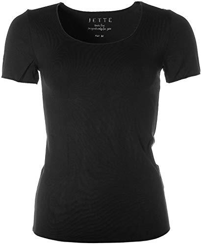 JETTE Joop Basic Kurzarm Shirt T-Shirt Rundhals 34 schwarz