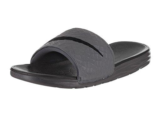 Nike Herren Benassi Solarsoft Sneakers, Grau (Dark Grey/Black 001), 40 EU