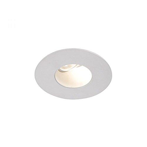 28-Degree Angle WAC Lighting HR-3LED-T918N9W-WT Tesla LED 3-Inch Square Adjustable Trim 3000K 90 Circuit