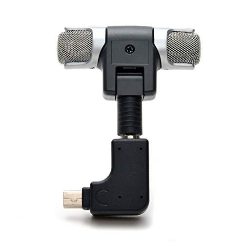 Candyboom Mini micrófono estéreo de 3,5 mm, Accesorio para cámara para GoPro Hero 3/3 + / 4