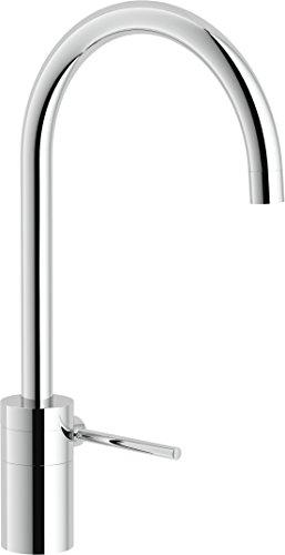 Nobili rubinetterie PL00113CR Plus Miscelatore Monocomando per Lavello da Cucina, Cromo