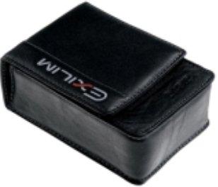 Casio EXZE-CASE1 Ledertasche für EXILIM ZOOM EX-Z10 / 110 / 120, EX-V7