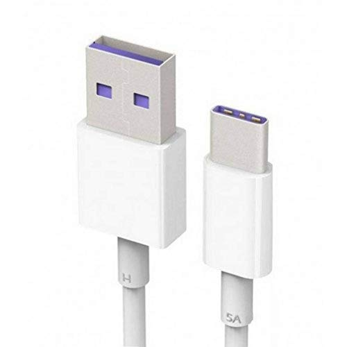 HUAWEI Ap71 Cable USB Tipo C, Color Blanco, Negro