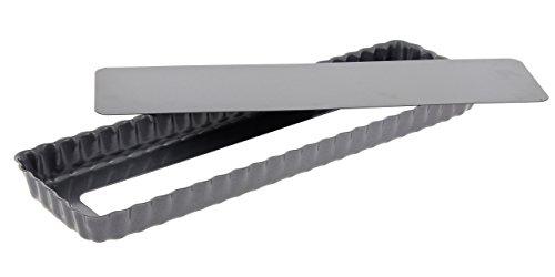 DE BUYER -4708.36 -tarte rectangulaire fond demontable 36cm