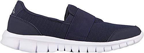 Kappa Unisex-Erwachsene Taro Sneaker, Blau (6710 Navy/White), 44 EU
