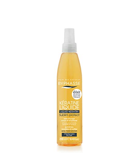 Byphasse - Kératine liquide sublim protect pour cheveux secs - 250 ml - Cheveux secs