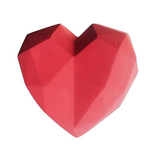 szlsl88 auto parfum clip auto styling luchtverfrisser gips interieurdecoratie universeel minigeschenk met etherische olie accessoires Vent Outlet gemonteerd hartvorm (rood) Eén maat rood
