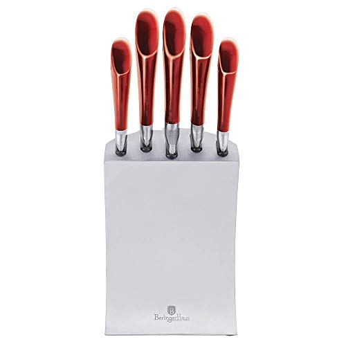 Berlinger Haus 5 Stück Messer mit Edelstahlständer, BH-2135
