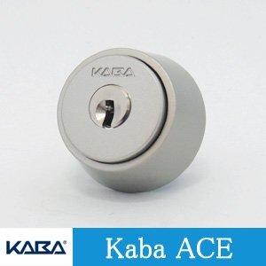 Kaba ace(カバエース) シリンダー錠 MIWA BHタイプ キー標準3本付属 玄関 鍵 交換 取替え Kabaace3238 BH LD DZ 防犯シルバー