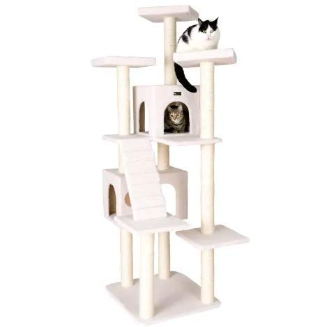 "Mix.Home Classic Model Cat Tree, 77"" H. Best Choice for Your Pets. Kitty Posts. Cat's Stands. Best Cat Bed & Trees & Condos. Pet's Playground."