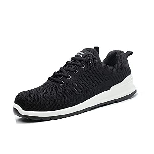 Zapatos de Seguridad - Zapatillas de Trabajo con Puntera de Acero,Calzado de Industrial y Deportiva, Sport Sneakers para Hombre & Mujer