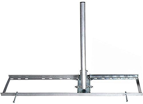 Satix Dachsparrenhalter 55-90 cm Sparren-Abstand für Sat-Anlagen Satelliten-Schüssel
