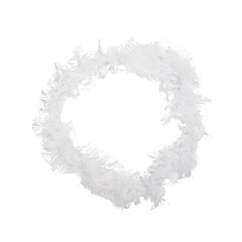 REFURBISHHOUSE - Boas in Weiß, Größe Einheitsgröße