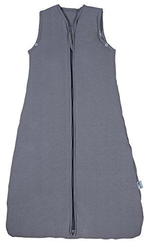Schlummersack Babyschlafsack für den Sommer 1.0 Tog - Anthrazit - 6-18 Monate / 90 cm