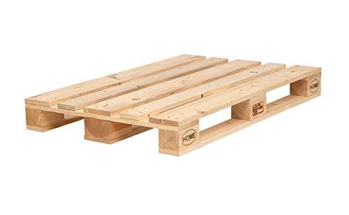 Schroth Home 5 Stück Möbelpalette Paletta gehobelt – EPAL Europaletten – Möbelpalette geschliffen – kein lästiges schleifen mehr