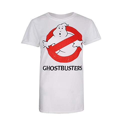 Women's Official Ghostbusters Big Logo T-shirt, 3 Colours, S to XL
