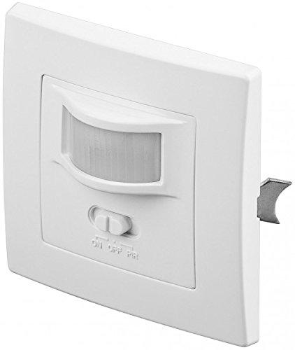 Interrupteur Mural détecteur de Mouvement encastré 160° pour Lampes Ampoules LED, halogènes (1)