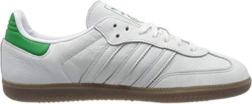 adidas Herren Samba Og Fitnessschuhe, Weiß (Ftwbla/Verde/Gum5 000), 42 EU