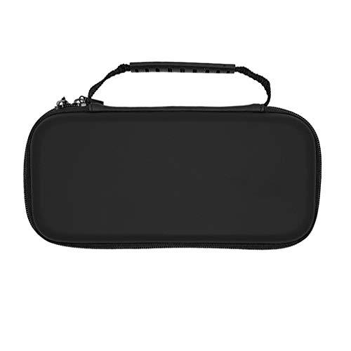 Hoes voor Nintendo Switch Lite, draagbare Eva-reistas tas voor Nintendo Switch Mini zwart