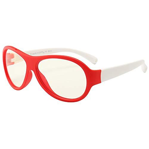 Kinder-computerglazen video gaming bril - anti-harmful blauw licht / UV400 | verblindingsbescherming | veiligheidsbril voor kinderen rood