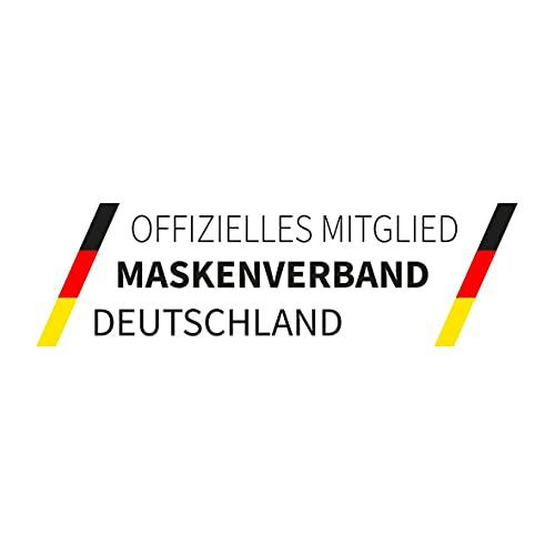 elasto form 10x FFP2 Atemschutzmaske MADE IN GERMANY FFP2 Zertifiziert CE 2163 KN95 Maske Staubschutzmaske Atemmaske Staubmaske verpackt im hygienischen PE-Beutel - 7