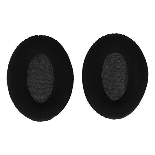 PUSOKEI Cuscinetti Auricolari per Cuffie, Cuffie di Ricambio Cuffie Auricolari, Cuffie di Ricambio per KHX-HSCP HyperX Cloud II((Nero Strutturato))
