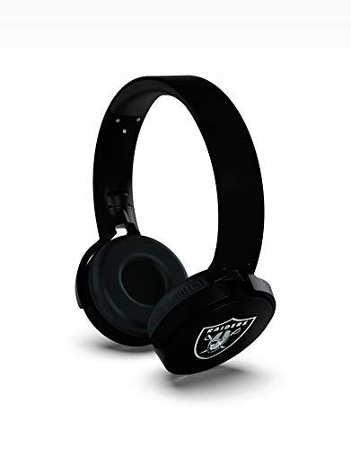 NFL Oakland Raiders Wireless Bluetooth Headphones, Team Color