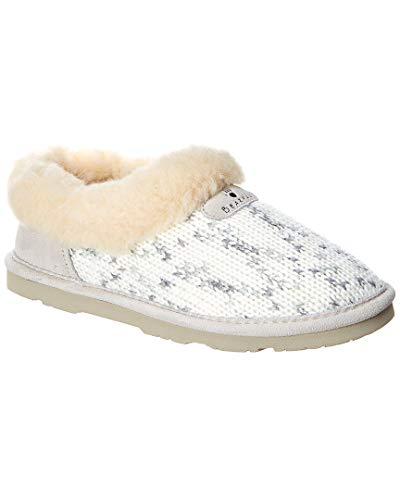 Bearpaw Alice Women's Slipper Winter White - 9 Medium