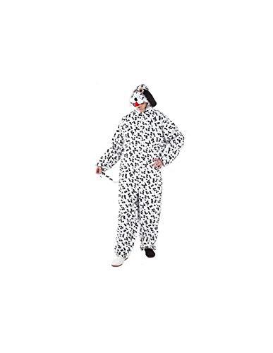 DISBACANAL Disfraz de dálmata Adulto - -, XL