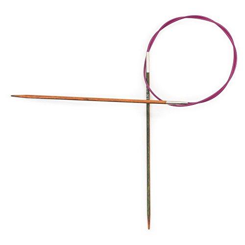KnitPro 20323 Rundstricknadel, Mehrfarbig, 2.5mm, Länge 60 cm