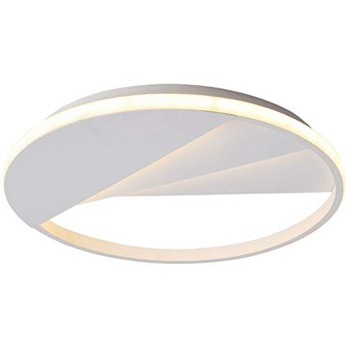 Lámpara de Techo Simple y moderno dormitorio pasillo balcón redondo personalidad creativa luz de techo LED Luminaria de Techo (Color : White light)