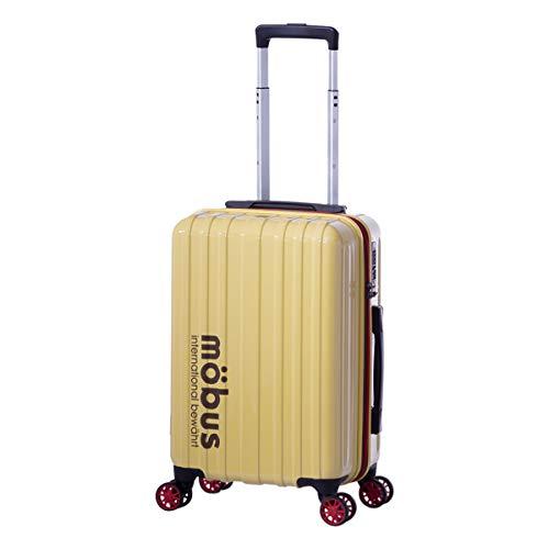 [アジアラゲージ] モーブス スーツケース 機内持ち込み 32L 33.5cm 2.5kg MBC-1908-18 ハード ファスナー mobus×A.L.I TSAロック搭載[09/12] アイボリー