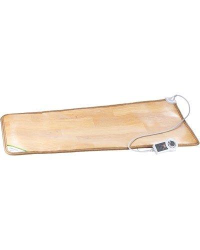 infactory Elektrische Fußmatte: Beheizbare Infrarot-Fußboden-Matte, 105 x 55 cm, bis 60 °C, 150 Watt (Beheizbare Fußmatte Büro)