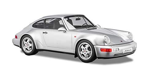 paul's model art gmbh Minichamps 800656001 - Porsche 911 (964) 30 Jahre 911 Polar Silver Metallic 1993 Mit Vitrine - maßstab 1/8 - Sammlerstück Miniatur